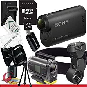 Sony HDR-AS15 HD Action Camcorder with WiFi 16GB Package 3
