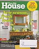 img - for This Old House April 2012 New Season, Fresh Looks For Every Room In the House (39 Smart Ideas Reinvent Your Laundry Room, and more) book / textbook / text book