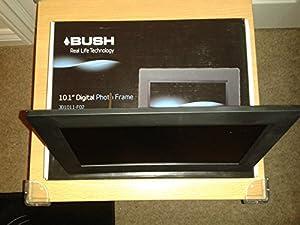 Bush 8 Inch Digital Photo Frame - Black.