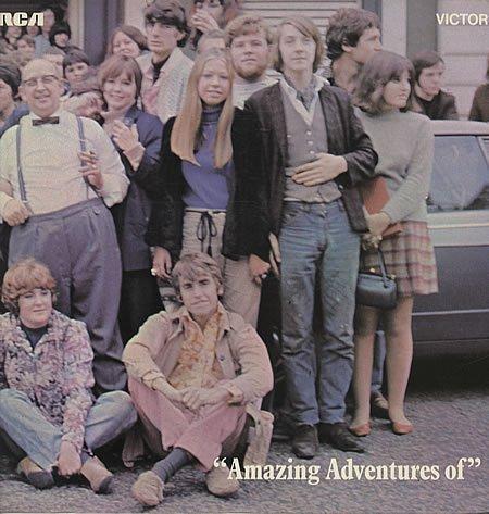 LIVERPOOL SCENE - Amazing Adventures of the Liverpool Scene(LP vinyl) - LP
