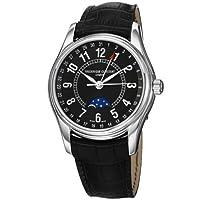 Frederique Constant Men's FC-330B6B6 Index Black Leather Strap Watch from Frederique Constant