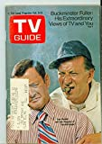 1971 TV Guide February 6 Tony Randall and Jack Klugman (First Cover) - Iowa Edition Good (2 out of 10) Heavily Used by Mickeys Pubs