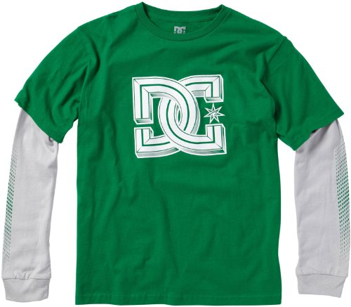 Dc Youth Adkzt00103 Youth Tops Screen Tee Kgr 4T