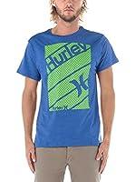 Nike Hurley Camiseta Manga Corta Territory (Azul Royal)
