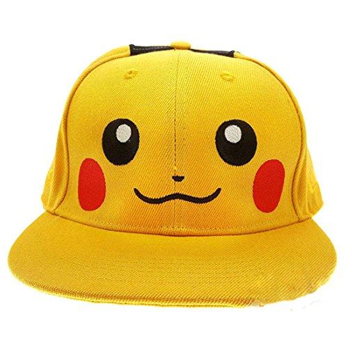 Gorra Pokemon Pikachu dibujos animados