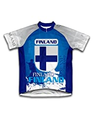 Finland Short Sleeve Cycling Jersey for Women