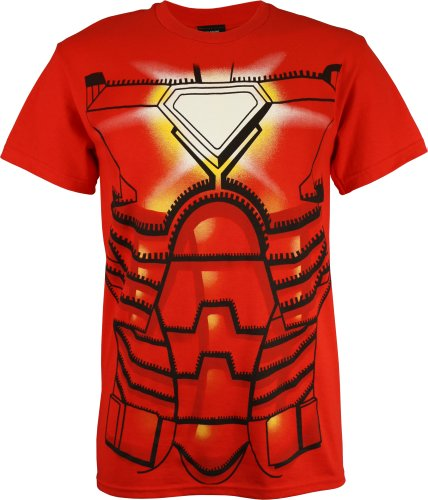 Iron Man Men's Costume T-Shirt,
