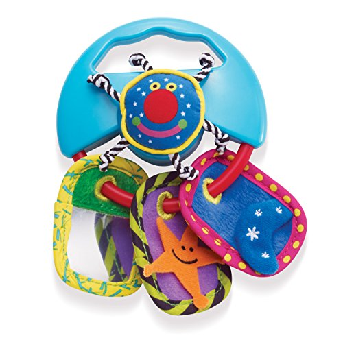 Manhattan Toy Whoozit Textures And Sound Multi-Sensory Activity Toy And Teether front-822833