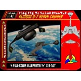 Klingon D-7 Heavy Cruiser Blueprints Star Trek