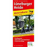 Motorradkarte Lüneburger Heide: Mit Ausflugszielen, Einkehr- & Freizeittipps, reissfest, wetterfest, abwischbar, GPS-genau. 1:200000