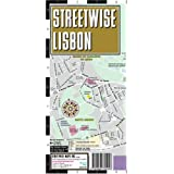 Streetwise Lisbon Map - Laminated City Center Street Map of Lisbon, Portugal - Folding pocket size travel map with surface tram lines & metro stations ~ Streetwise