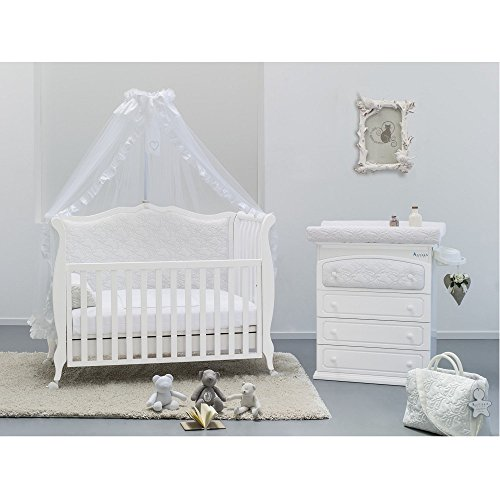 babyzimmer komplett set rinascimento mit besonderem. Black Bedroom Furniture Sets. Home Design Ideas