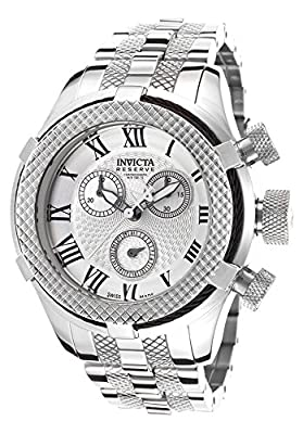 Invicta Women's 17154 Bolt Analog Display Swiss Quartz Silver Watch