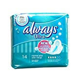 Always Ultra Sanitary Towels Normal Plus - With Wings 14