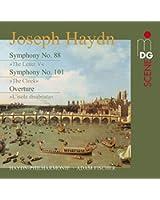 Haydn: Symphonies No. 88 & 101; Overture [SACD]