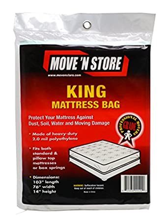 Amazon Plastic King Mattress Moving Bag Cover 10
