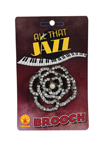 Rubie's Costume Brooch Accessory, Diamond, One Size - 1