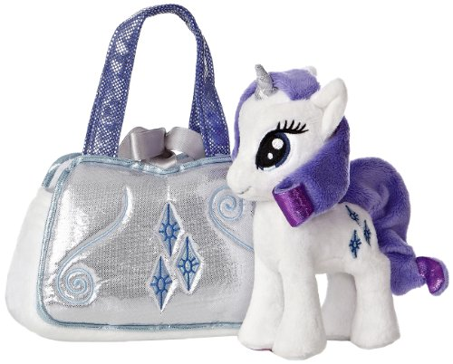 Aurora World My Little Pony Rarity Cutie Mark Carrier - 1