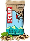 Clif Energy Protein Bars Cool Mint Chocolate w/Caffeine 6 Pieces