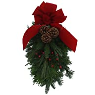 Worcester Wreath Holiday Maine Balsam Swag