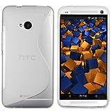 """mumbi TPU Schutzh�lle HTC One H�lle Welle transparent weiss (NICHT HTC One M8)von """"mumbi"""""""