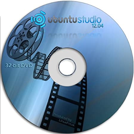 Ubuntu Studio 12.04 [32-bit DVD] - Ubuntu for Musicians and Graphic Artists
