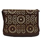 Colors Inc. Women's Party Sling Bag (Brown) - VKBLSLNG-10005