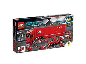 レゴ スピードチャンピオン F14 T & スクーデリア・フェラーリ トラック 75913