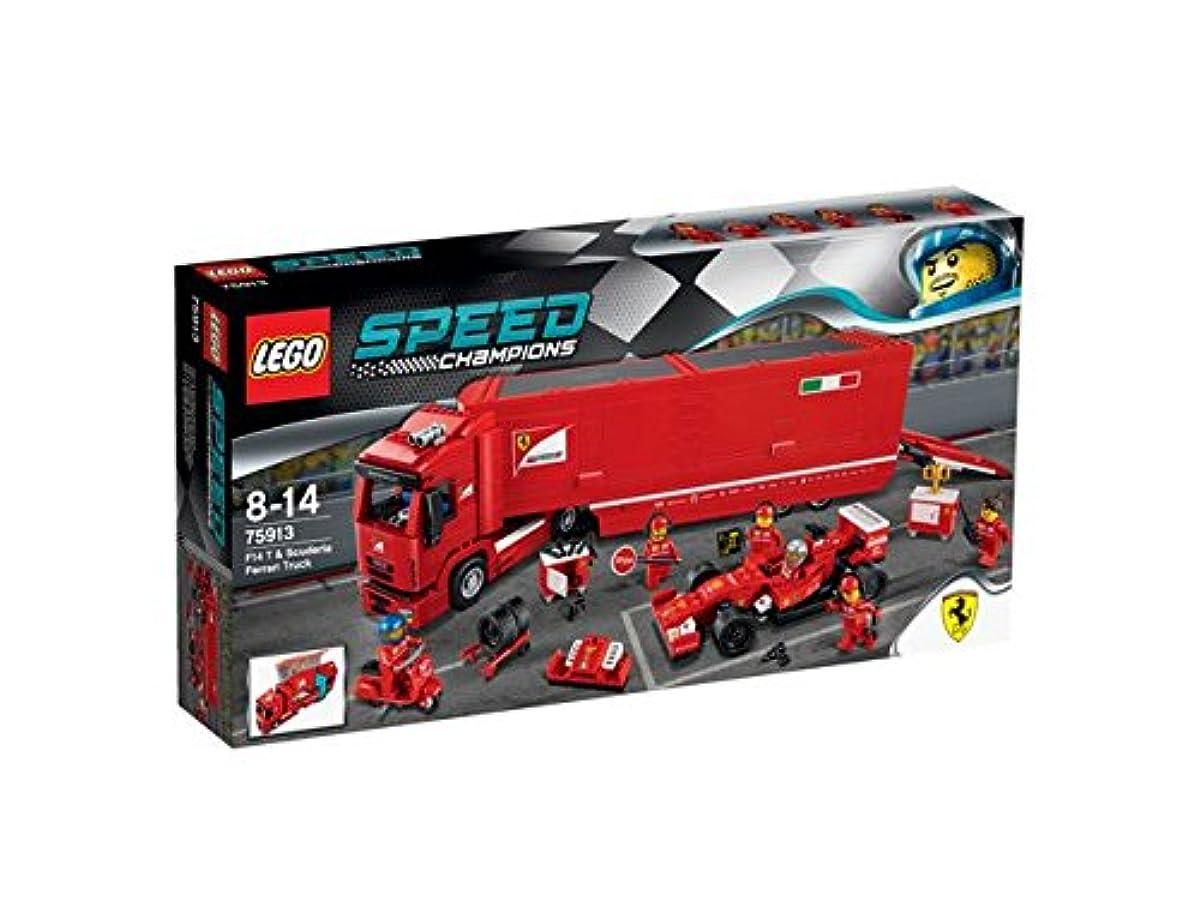 [해외] 레고 (LEGO) 스피드 챔피언 F14 T & 스쿠테리아페라리 트럭 75913-75913 (2015-03-06)