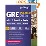 Kaplan GRE Premier 2014 with 6 Practice Tests: book + online + DVD + mobile