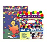 Do A Dot Art Marker Rainbow 6-pack Activity Book Gift Set - Colorful Critters