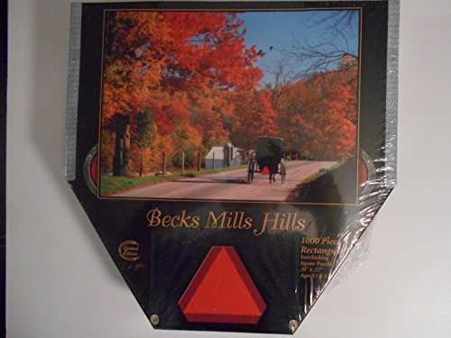 Doyle Yoder Limited Edition Amish Country Jigsaw Puzzle Becks Mills Hills - 1