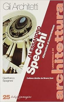 Alessandro Specchi: Alternativa al borrominismo (Gli