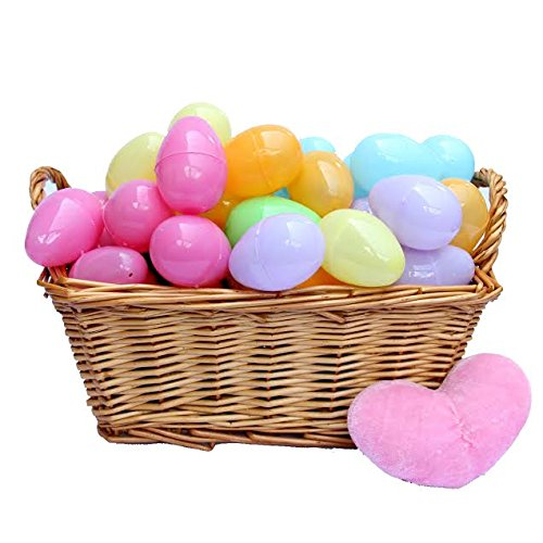 Dazzling Toys Easter Eggs - Plastic Bright Egg Assortment - 12 Eggs 2 Inch Eggs