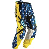 364-23322 - Fly Racing 2011 Youth Kinetic Motocross Pants 22 Yellow/Blue
