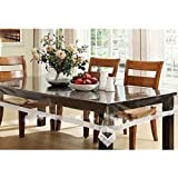 Griiham 4 Seater Table Cover Print Border Transparent40 60