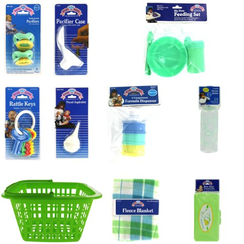 New Baby Welcome Basket Gift Set