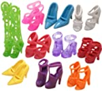 Eastvita 10 Pairs of Doll Shoes, Fit...