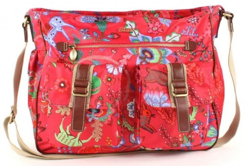 Oilily Shoulder Bag A4 mit Laptopfach 3306 pink