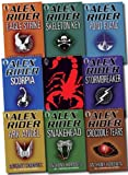 Anthony Horowitz Alex Rider Pack Collection, 9 books, RRP £62.91 (Scorpia Rising, Stormbreaker, Point Blanc, Skeleton Key, Eagle Strike, Scorpia, Ark Angel, Snakehead, Crocodile Tears) (Alex Rider)