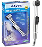 Aquaus Diaper Sprayer for Toilet - Made in the USA - NSF Certified - 3 Year Warranty