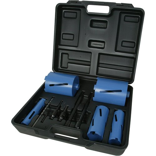 Silverline 868616 5 Piece Diamond Core Drill Bit Kit