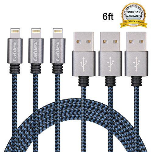 Buy Nylon Braided Lightning Charging Cable Now!