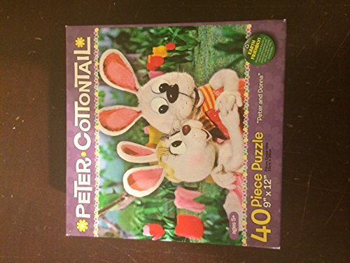 "PETER COTTONTAIL ""Peter & Done"" ~ 40 Piece Jigsaw Puzzle - 1"