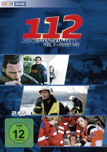 112: Sie retten dein Leben, Vol. 1: Folgen 1-16 [2 DVDs]