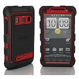 耐衝撃+防塵+防滴 HTC EVO用最強ケース降臨!! Ballistic HC Series Case for HTC EVO WiMAX Red / Black au ISW11HT バリスティック ケース レッド / ブラック