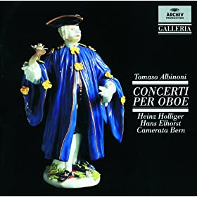 Tomaso Albinoni: Concerto a 5 in D, Op.7, No.8 for 2 Oboes, Strings and Continuo - 1. (Allegro)