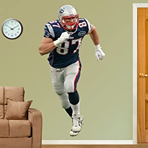 Rob Gronkowski - New England Patriots Fathead Wall Decal by Fathead