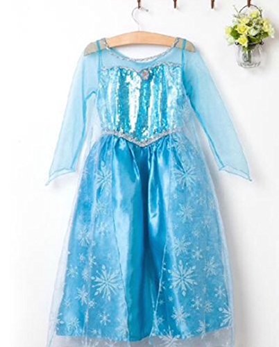 Queen Elsa Dress up Dress Costume