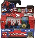 Marvel Minimates Amazing SpiderMan Movie Series 46 Battle Damaged SpiderMan Lizard